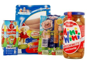 Kinder-Wurstprodukte (c) foodwatch