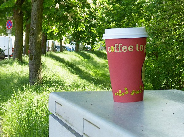 Coffee-to-Go-Becher (c) HESSENMAGAZIN.de