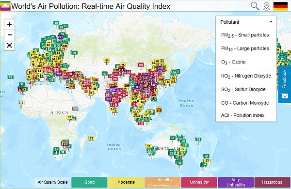 logo World's Air Pollution: Real-time Air Quality Index - Hardcopy http://waqi.info